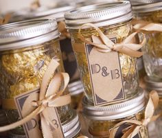 Art Deco Inspired Wedding With A Vintage Twist Anniversary Party Favors50th