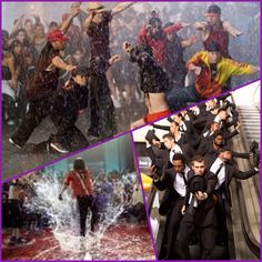 Favorite dance from each Step Up movie: 2 the Streets, 3D, Revolution