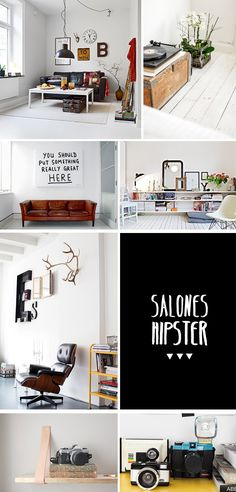 """salones hipster.  I love the sign!  """"You should put someting really great HERE.""""  lol"""