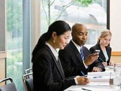Image result for adults texting while in meetings