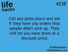 1000 Life Hacks....#pizza #provestra