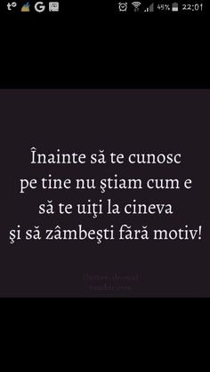 Acum stiu si ce inseamna sa te uiti la o persoana si sa te intristezi fara motiv... Rap Quotes, Music Quotes, Love Quotes, Motivational Words, Inspirational Quotes, Cute Texts, Thing 1, Love Life, Motto