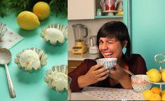 Como fazer Frozen de Iogurte