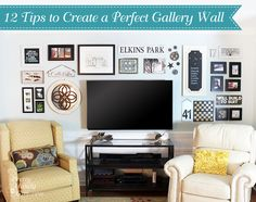 12 Tips to Create the Perfect Gallery Wall | Pretty Handy Girl