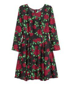 Mönstrad klänning | Product Detail | H&M