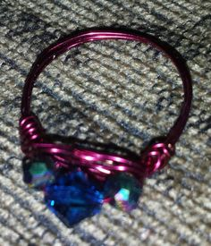 Check out this item in my Etsy shop https://www.etsy.com/listing/197583579/wire-wrapped-ring