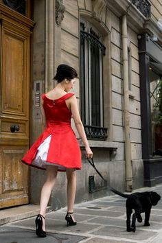 Paris in Red...