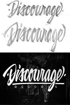"""One way to create an absolutely unique logo design is to craft the lettering by hand, as opposed to selecting an existing font."" Fantastic!"