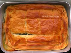 My Little Expat Kitchen: The Spanakopita Savoury Baking, Mediterranean Dishes, Spanakopita, Nom Nom, Good Food, Homemade, Dinner, Eat, Ethnic Recipes