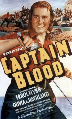 Captain Blood (1935) Go find a piece of wood, yay big by yay large. Then what? Lash it to your spine. BEST EVER!!!