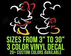 Disney Vinyl Decals Disney Theme, Custom Vinyl, Vinyl Decals, Handmade Gifts, Unique Jewelry, Fictional Characters, Vintage, Color, Design