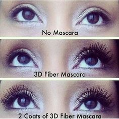 Younique Mascara | ... example of the difference between no mascara and Younique 3d Mascara Visit: http://www.lushesinseattle.com to order
