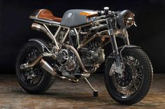 """Ducati """"PYRO"""" by Revival Cycles"""