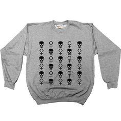 Skulls & Venus -- Women's Sweatshirt