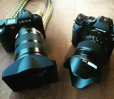 Foto del giorno dal mio account Instagram seguitemi! Leica SL vs Fujifilm X-T2... Tomorrow on field! @leica_camera_italia #leica #leicasl #fujifilm #xt2 #xphotographer #exploring #sportphotography #fujilovers http://ift.tt/2qjpDyn