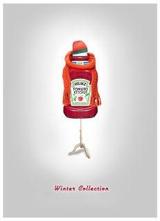 Sebastian Zabalegui: Producto: Heinz - Invierno / Recurso: Fotografía - Montaje. Ketchup, Christmas Ornaments, Holiday Decor, Winter, Communication, Christmas Jewelry, Christmas Decorations, Christmas Decor