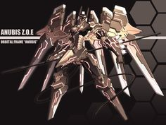 Anubis - Zone of the Enders Wiki