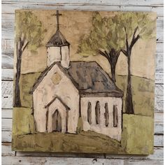 """Ashley Anthony """"House of Hope"""" Painting"""
