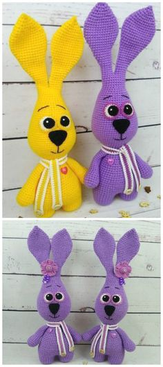 Mesmerizing Crochet an Amigurumi Rabbit Ideas. Lovely Crochet an Amigurumi Rabbit Ideas. Crochet Teddy Bear Pattern, Crochet Patterns Amigurumi, Knitting Patterns, Crochet Gifts, Crochet Toys, Free Crochet, Crochet Animals, Bunny Origami, Bunny Images