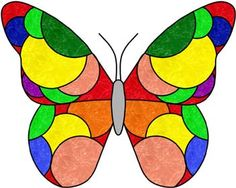 butterfly ... color pattern