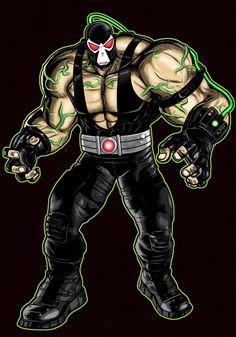 BANE Prestige Series by Thuddleston on DeviantArt Scarecrow Batman, Dc Comics, Bane Batman, Batman Universe, Dc Universe, Comic Villains, Riddler, Dc Characters, Marvel Vs