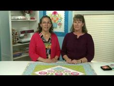Fancy Flowers Quilt Along: Lesson 1 of 1. Join McCall's Quilting assistant editor Erin Russek and web editor Valerie Uland as they go over the tools & supplies you'll need and demonstrate making the just-right-for-beginners leaf shape.