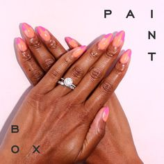 On Point by Saradya #paintboxmani #nails #nailart