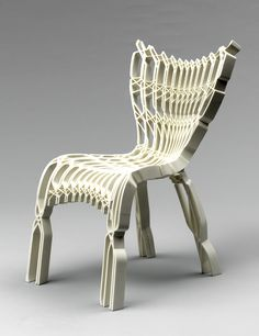 3D printed chair by designer Ammar Eloueini