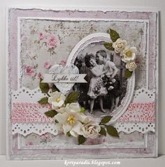 Wedding 2014 North Star Stamps North Star Design NDS NSS Stamps Handmade Shabby Chic Wedding Scrapping