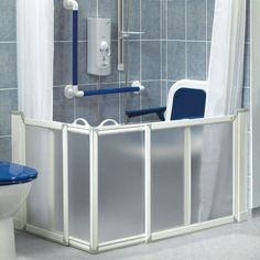 Shower Area For Elderly As They Can Sit Down And Shower