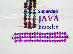 Tutorial Superduo Bracelet JAVA Instant Pattern Download