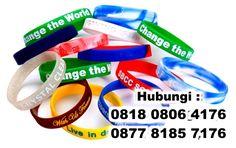 souvenir gelang karet berlogo, rubber wrist band, rubber baller, rubber bracelet, Gelang Karet Trendi dan Gaul, Rubber Band