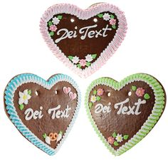 Create your very personal gingerbread heart from Bavaria!