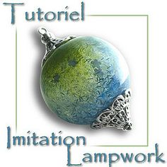 Fimo Crystalline tutorial and jewelry polymer: Tutorials