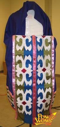 Ribbonwork blanket