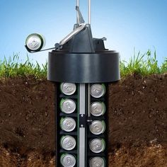 This Earth Cooler Chills Your Beer or sodas Underground, Without Electricity
