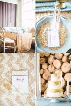 chevron, glitter, gold and feathers. cute.