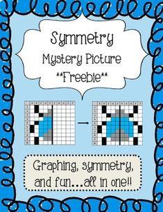 Classroom Freebies: Symmetry Freebie