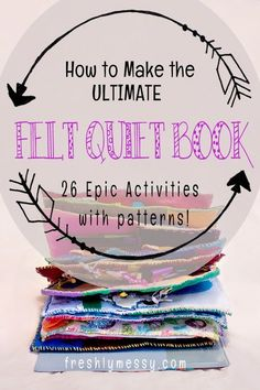 A new pattern of unique quiet book activities added weekly, and this is the database of all of them! Diy Quiet Books, Baby Quiet Book, Felt Quiet Books, Book Projects, Sewing Projects, Felt Projects, Book Libros, Quiet Book Patterns, Quiet Book Templates