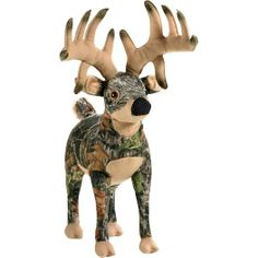 Big Bucky Mossy Oak Camo Deer Stuffed Animal at Legendary Whitetails This would be an AWESOME 2 year/valentines day gift :) $20.00 He bought it for me :)