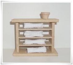 Mini Estante 3 prateleira   Utilizada para decoração de cenarios/roombox/nichos e ou casa de boneca