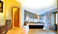 Casas de Pousadouro, Douro Valley, Portugal | exposed brick