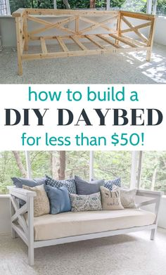 Diy Outdoor Furniture, Diy Furniture Projects, Diy Wood Projects, Furniture Makeover, Wood Furniture, Woodworking Projects, Diy Projects For Home, Diy Bedroom Projects, Diy Home Furniture