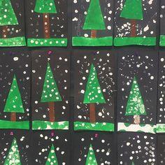 Shapes Tree with Fingerprint Snow (from Vanessa Garcia, That Southern Teacher via Instagram: https://www.instagram.com/p/BNi76B3hlG-/)