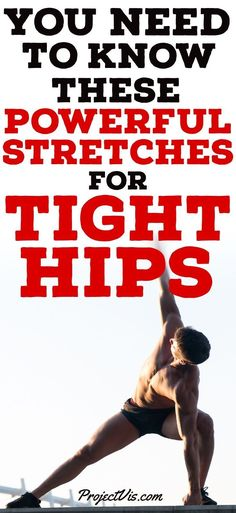 Your #Hips are vital to nearly every #exercise you will ever do. Not only that, but they are essential for every day #life . You use them to stand, #walk , #bend , #Squat , and everything in between. If you have chronically tight hips, this can lead to a whole lot of painful problems in the future. Not only in the #gym , but every other waking hour of your life. Use these #stretches to improve your #flexability and hip #mobility . Change your life, invest in your future! #ProjectVis