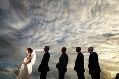 Follow the bride...