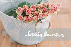 DIY: Pequeños detalles decorativos | Café largo de ideas - Decoración, reciclaje, DIY, blogging