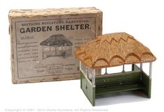 Britains Set - Garden Shelter, only] Shelter, Britains Toys, Decorative Boxes, Furniture Deals, Soldiers, Garden, Projects, Miniature, Advertising