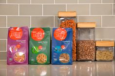 Modern Table's lineup of bean pasta meal starters #glutenfree #nongmo