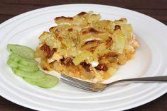 Recept s fotopostupom na tradičnú slovenskú klasiku. Možno raz využijú naše deti, aj keď staršia dcéra varí lepšie ako ja. Potato Recipes, Cauliflower, Macaroni And Cheese, Menu, Potatoes, Vegetables, Ethnic Recipes, Food, Lasagna